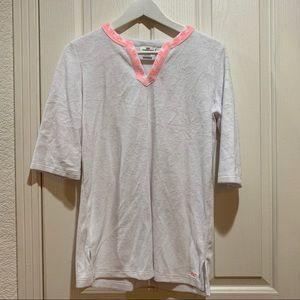 Vineyard Vines NWT Terry Swim cover Shirt XS White